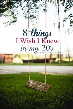8 Things I Wish I Knew in My 20's #sponsored #CORTatHome