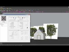 Render trees in Vray for Rhino tutorial - YouTube