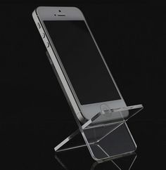 Acrylic clear mobile holders cell phone display rack #brandnew