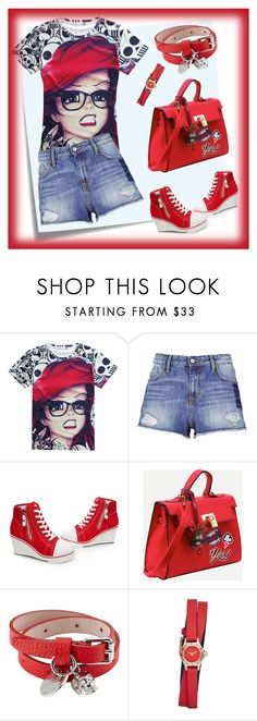 """""""Untitled #47"""" by sonjapop ❤ liked on Polyvore featuring Post-It, Vivienne Westwood Anglomania, Alexander McQueen and Marc by Marc Jacobs"""