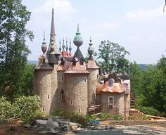 Castle Mont Rouge- Red Mountain in Rougemont, NC