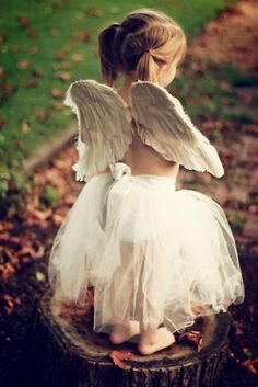 Look what I found, its a real life Angel! So cute!