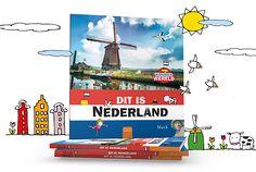 Zagen wij Nederland maar elke dag door de ogen van Mack! Dan werden wij en onze kinderen dagelijks herinnerd aan hoeveel moois ons kleine landje te bieden heeft. Tulpen en molens, rivieren en grachten, kaas en kroketten, fietsen en bootjes. http://www.clavisbooks.com/book/dit-is-nederland