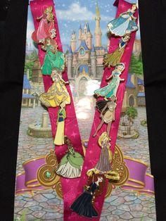 Disney Princess Pin set