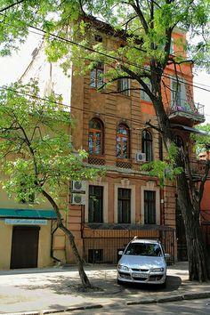 Street in Odessa, Ukraine