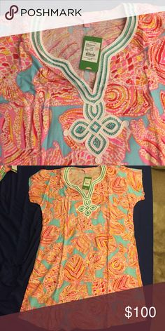 Lilly Pulitzer dress Breakwater blue NWT No lowballs please, I offer a 15% discount when 3+ items are bundled :) I'M TRAVELING THE ENTIRE MONTH OF MAY!! ORDER NOW OR YOU'LL HAVE TO WAIT!! Lilly Pulitzer Dresses