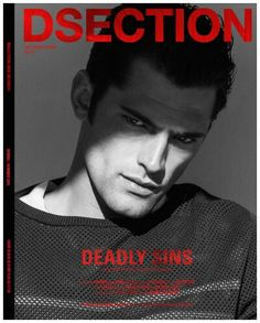 Supermodel Sean O'Pry takes the cover of Dsection Magazine's Deadly Sins issue captured by fashion photographer Doug Inglish with styling from Nicolas Klam. Sean O'pry, Fashion Tape, Mens Fashion, Magazine Front Cover, Magazine Covers, Emily Didonato, The Fashionisto, Prom Photos, Ideal Man