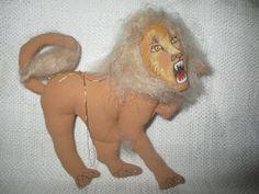 GLADYS BOALT Lion Ornament dated 1993 | eBay