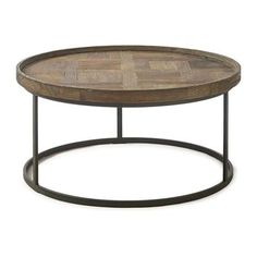 Buy Riviera Maison Flatiron Round Coffee Table online with Houseology's Price Promise. Full Riviera Maison collection with UK & International shipping. Round Coffee Table, Flat Iron, Living Room, Interior Design, Furniture, Home Decor, Urban, Products, Home