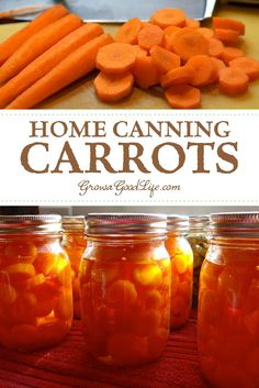 Home Canning Carrots: Preserve your summer bounty of carrots in jars to enjoy over winter by home canning carrots. Visit for the step-by-step process.