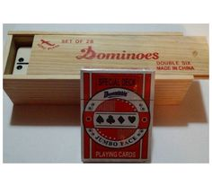 Ivory Dominoes Set 28 w Bonus Card Deck for Kids Family Game Children Play Learn | eBay