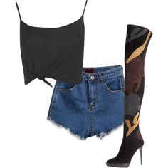 ++ by mic-landaida on Polyvore featuring moda, Boohoo and Burberry