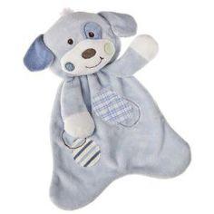 Mary Meyer Baby Cheery Cheeks Lovey, Woof Woof Puppy