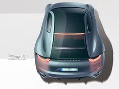 Porsche Panamera Concept by Tigran Lalayan, via Behance