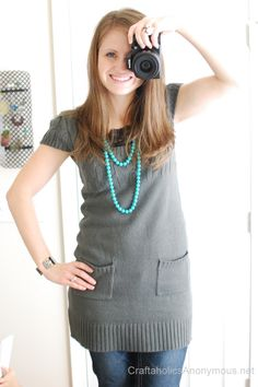 turquoise bead necklace <3 Stella and Dot giveaway