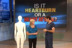Heartburn or Heart Attack?: While the two are unrelated, the symptoms can…