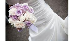 Bouquet mariage Roses tendres - livraison express de bouquet de mariée - France Fleurs