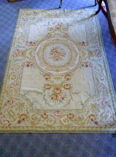 Aubusson Area Rug Aubussonfrench Frenchcountry