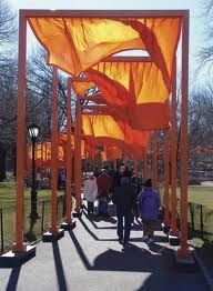 The Gates in Central Park by Christo and Jeanne-Claude