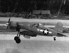 F4U Corsair 16 of VMF-214 Torokina January 10, 1944