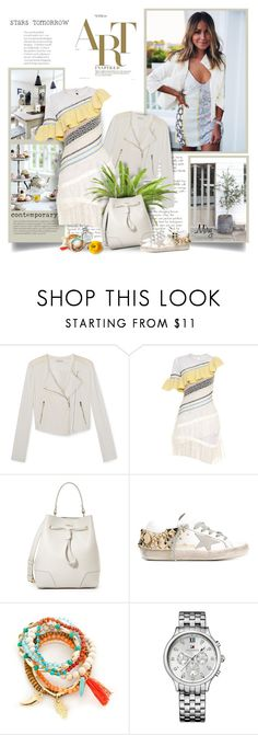 """""""Contemporary"""" by thewondersoffashion ❤ liked on Polyvore featuring Rebecca Minkoff, Peter Pilotto, Furla, Golden Goose, Red Camel, Tommy Hilfiger and contemporary"""