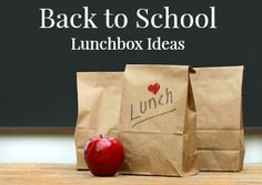 Mommy's Kitchen - Home Cooking & Family Friendly Recipes: Peanut Butter & Jelly Bars + More Back to School Lunch Box Ideas #bts #lunchboxideas