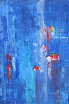 Abstract Painting by Linda Donohue. $2,000, via Etsy.