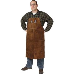 Security & Protection Humor Full Cowhide Leather Welding Apron Bib Blacksmith Apron 3 Size Yellow Electric Welding Safety Clothing Distinctive For Its Traditional Properties