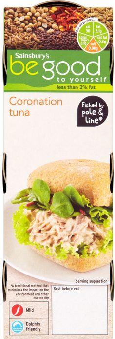 Sainsbury's Be Good to Yourself Tuna Coronation Sandwich Filler (3x80g)