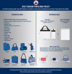New Nfl Bag Policy Infographic For All You Lady Football Fans Out There