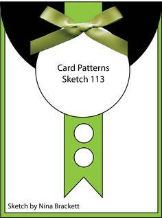 Card Patterns: Sketch #113