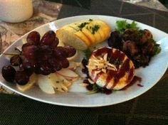 Dinner at The Oar House in Dahlonega, Georgia - fabulous!