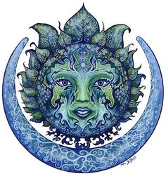 Mother Earth. Just love the color and the intricate handiwork. Wow...