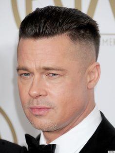 New haircut men undercut brad pitt 24 Ideas Brad Pitt Haarschnitt, Brad Pitt News, Trendy Mens Haircuts, Cool Haircuts, Cool Hairstyles, Brad Pitt Fury Haircut, Slicked Back Hair, Hair Styles 2016, Hair Cuts