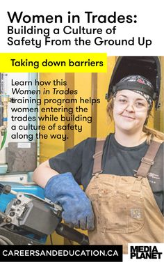 The Women In Trades Training Program is creating a system of women mentoring women who are looking to start their career in the trades.