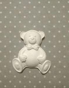 Orso in gesso ceramico, by Le creazioni di Milù, 1,00 € su misshobby.com