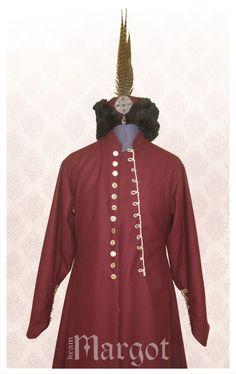 Polish Zupan- 16th-17thc traditional noblemen gown, long garment by males of the noble social class in Poland