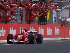 Michael Schumacher Ferrari Hungaroring 2004