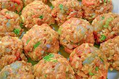 Rux Cooks: Jambalaya Balls LITE