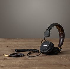 Marshall Headphones - Black