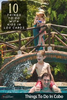 Los Cabos, on the southern tip of the Baja California peninsula in Mexico has two very distinct personalities. Whichever side you choose, however, Los Cabos is a very easy place to visit with kids and there's plenty to see and do. Here's our top 10 pick. #Cabo #LosCabos #ThingsToDo Discover and see more on https://www.loscabospassport.com
