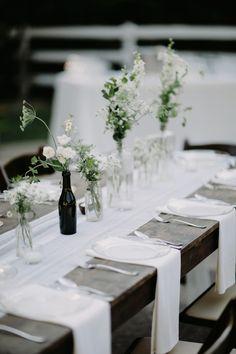 This simple color palette wins my heart #cedarwoodweddings Organic Minimalism :: Caprice+Steve | Cedarwood Weddings