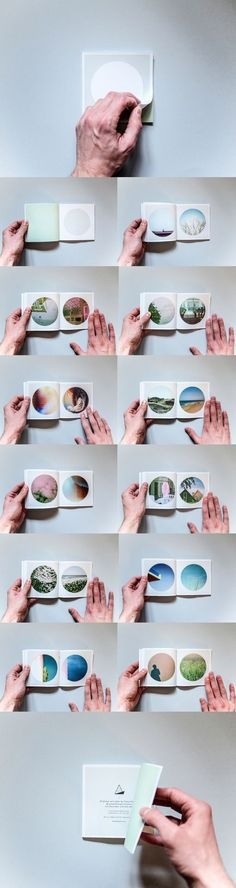 365 - 120x120 mm, 64 pages, self published zine...similar mini portfolio?