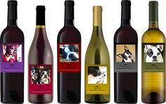 """Boston Terrier Rescue Team of the Carolinas is a non-profit organization dedicated to saving and improving the lives of Boston terriers and Boston terrier mixed-breed dogs.  Our rescue serves North Carolina, South Carolina, Virginia and Georgia.  Share this wine, and save a life!  Like us on Facebook! www.facebook.com/BTRTOC """"Leaving No Boston Behind."""""""