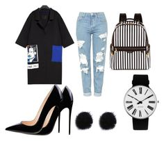 """""""Just Go!"""" by bebarevay on Polyvore featuring Topshop, Henri Bendel and Rosendahl"""