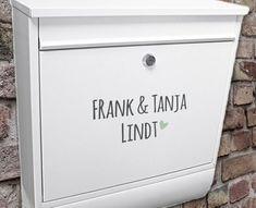 die besten 25 namensschild briefkasten ideen auf pinterest. Black Bedroom Furniture Sets. Home Design Ideas
