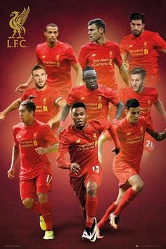L.F.C Team - Liverpool Players 2016/2017