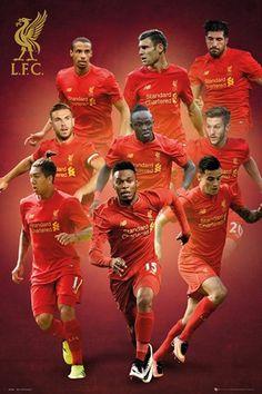 L.F.C Team - Liverpool Players 2016/2017