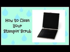 Effective and easy way to properly clean your Stampin' Scrub Stampin' Up!, card, paper, scrapbook, craft, rubber, stamps, hobby, organization, storage, remedy, ink, www.lisasstampstudio.com