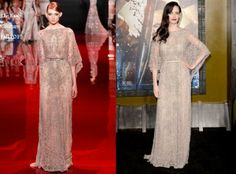 Eva Green In Elie Saab Couture - '300: Rise Of An Empire' LA Premiere. Re-tweet and favorite it here: https://twitter.com/MyFashBlog/status/441127967486251008/photo/1